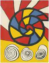 Alexander CALDER (1898-1976) - Phonograph