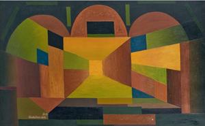 Serge CHARCHOUNE (1888-1975) - Temple Mystic III