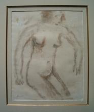 Constant PERMEKE (1886-1952) - Zittend Naakt