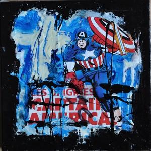 Véro CRISTALLI (1965) - Captain America