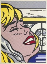 Roy LICHTENSTEIN (1923-1997) - Shipboard Girl