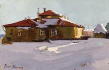 Nikolai Petrovich KRIMOV (1884-1958) - Winter
