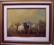 Noël-Dieudonné FINART (1797-1852) - l'accolade