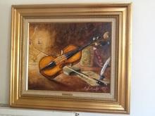 Claude LAZ (XX) - Le violon