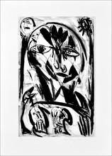 Carl-Henning PEDERSEN (1913-2007) - Derrière le miroir
