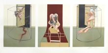 Francis BACON (1909-1992) - Triptych inspired by Oresteia of Aeschylus