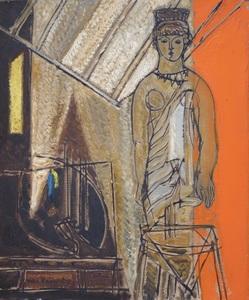 Max PAPART (1911-1994) - Cori dans l'atelier