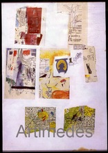 Jean-Michel BASQUIAT (1960-1988) - Untitled, (SAMO), 1986