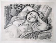 Henri MATISSE (1869-1954) - Odalisque au Collier