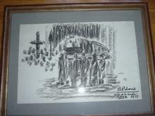 """Benjamín PALENCIA PEREZ (1894-1980) - """"ENTIERRO DE FRANCO"""""""