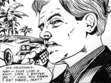 Marc DENNIS (1965) - A$$hole on Cell Phone #19 (Nah)