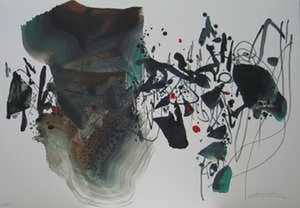 CHU Teh-Chun (1920-2014) - JEUX OLYMPIQUES 1992 BARCELONE