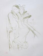 """Henri DE TOULOUSE-LAUTREC (1864-1901) - """"Eros vanné"""" (Eros Vanquished)"""