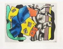 Fernand LÉGER (1881-1955) - La Racine Grise