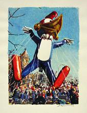 Ronald KLEEMAN (1937) - Study for 'Pecker Heads'