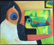 Gisela CLEV (1952) - couleurs de toucan