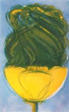 Jean MESSAGIER (1920-1999) - Paysage Sorbet