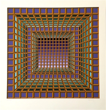 Victor VASARELY (1906-1997) - London White