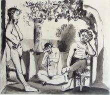 Pablo PICASSO (1881-1973) - Bacchanal