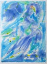 Carl-Henning PEDERSEN (1913-2007) - Den blå båd / The blue boat