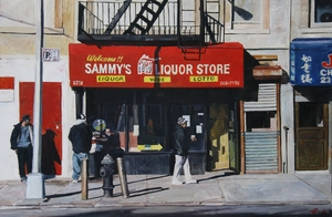 Michael BRADY (1936) - Sammy's liquor store