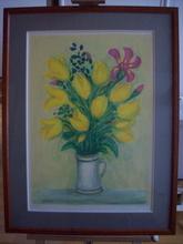 André COTTAVOZ (1922-2012) - Tulipes et iris
