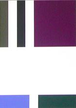 Aurélie NEMOURS (1910-2005) - Partage au violet