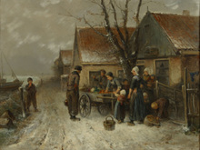 Mari TEN KATE (1831-1910) - Winter scenery