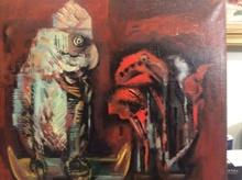 Ulysse CAMBRAI (1904-1967) - Le perroquet