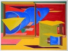 Al HELD (1928-2005) - Pachinko