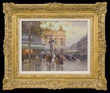Édouard CORTES (1882-1969) - Café de la Paix, Paris