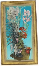 Edouard Georges MACAVOY (1905-1991) - Bouquet de fleurs