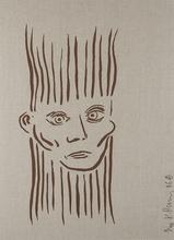 Keith HARING (1958-1990) - Portrait of Joseph Beuys