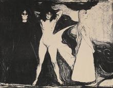 Edvard MUNCH (1863-1944) - Kvinnen i tre stadier