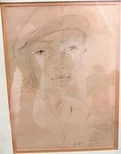 Filippo DE PISIS (1896-1956) - ritratto di ragazzo