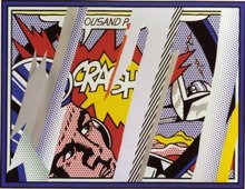 Roy LICHTENSTEIN (1923-1997) - Reflections on Crash, from: Reflections (C. 239)