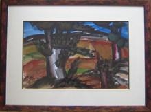 Franz PRIKING (1929-1979) - Le gros olivier