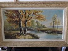 Robert MOGISSE (1933) - automne au bord du canal