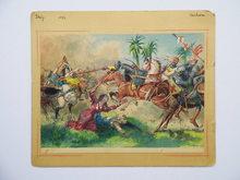 Quinto CENNI (1845-1917) - Battle Scene