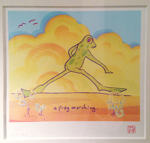 John LENNON (1940-1980) - A frog marching