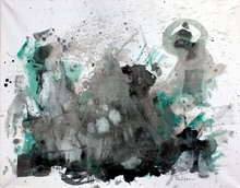 Saverio FILIOLI (1987) - Drum painting #4