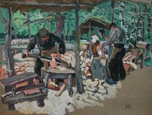 Mathurin MÉHEUT (1882-1958) - les sabotiers
