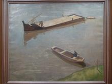 Tivadar FÖRSTNER (1878-1936) - On the River