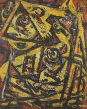 Theo WOLVECAMP (1925-1992) - Sans Titre 1976