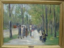 Max LIEBERMANN (1847-1935) - Tiergarten
