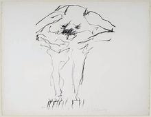 Willem DE KOONING (1904-1997) - Clam Digger