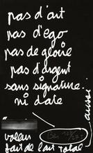 BEN (1935) - Manifeste d'art total
