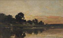 Charles François DAUBIGNY (1817-1878) - Sunset