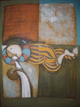 Graciela RODO BOULANGER (1935) - ACUARIO. ZODIAC SERIES.