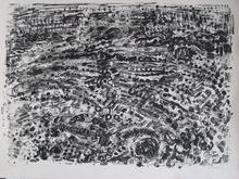 André COTTAVOZ (1922-2012) - LITHOGRAPHIE SIGNÉE CRAYON NUM/30 HANDSIGNED LITHOGRAPH